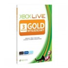 XBOX 360 Live Gold Card 3 Monate / 3 Months