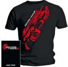 Gears Of War 2 - Stained Lancer T-Shirt (LARGE)