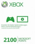 XBox Live Points Card 2.100