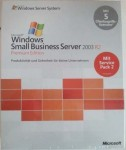 MS Small Business Server Premium 2003 R2 - 5 Clt
