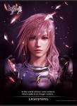 Final Fantasy XIII-2  Wall Scroll Poster Lightning