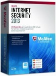 McAfee Internet Security 2013 - 1 User  PC