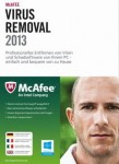 McAfee Virus Removal 2013  PC