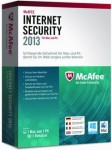 McAfee Internet Security 2013 Dual Prot. - 1 User  PC + MAC