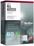 McAfee All Access 2013 Haushalt  PC + MAC