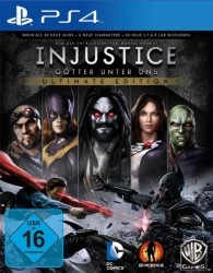 Injustice  Ultimate Edition  PS4  (gebraucht)