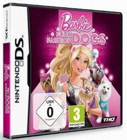 DS - Barbie Fun and Fashion Dogs
