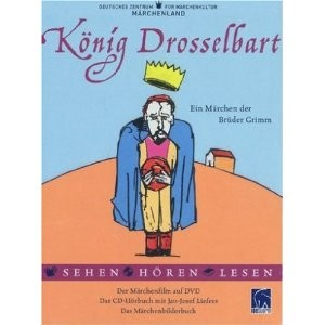 König Drosselbart (DVD + Audio-CD + Buch)