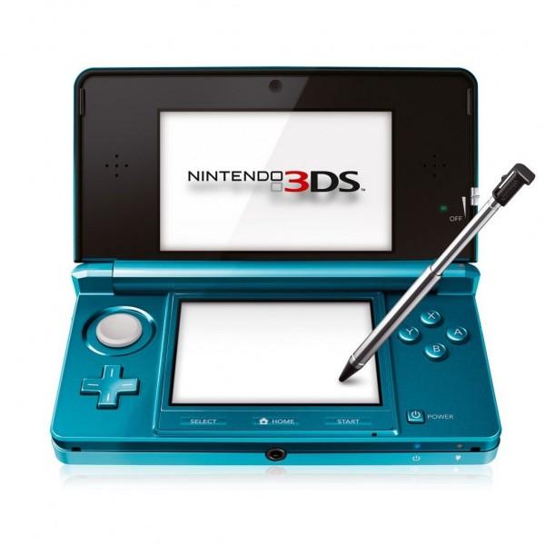 3DS - Nintendo 3DS Konsole Aqua Blau