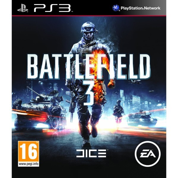 Игры PS 3. PlayStation 3. Battlefield 3 PS3, русская версия.