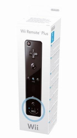 Controller Remote Plus - Black Wii (NINTENDO)