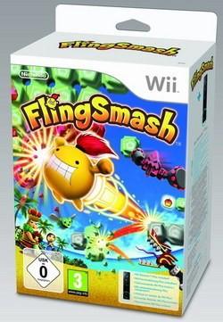 Nintendo Wii FlingSmash + Controller